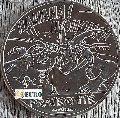 10 euros France 2015 - Asterix fraternité Chez les Belges