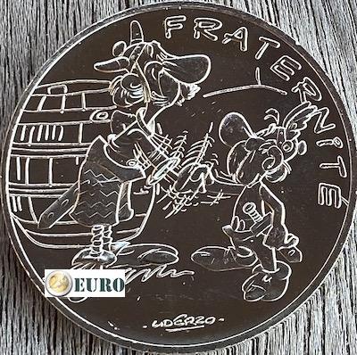10 euros France 2015 - Asterix fraternité Chez les Bretons