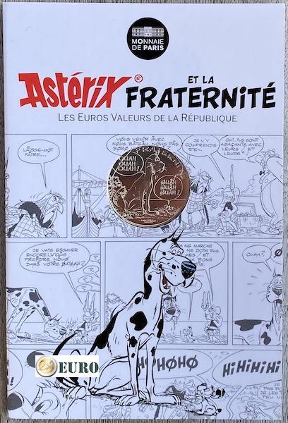 10 euros France 2015 - Asterix fraternité La Grande Traversée - en cartelette
