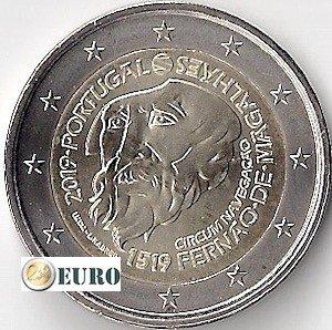 2 euros Portugal 2019 - Fernand de Magellan UNC