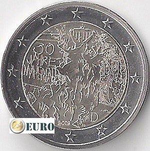 2 euros Allemagne 2019 - D Mur de Berlin UNC
