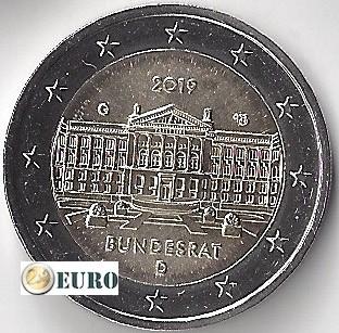 2 euros Allemagne 2019 - G Bundesrat UNC