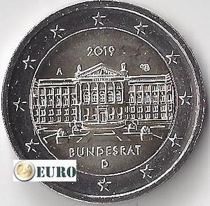 2 euros Allemagne 2019 - A Bundesrat UNC