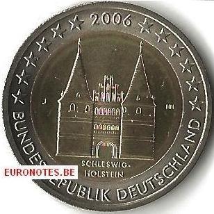 Allemagne 2006 - 2 euro J Schleswig-Holstein UNC