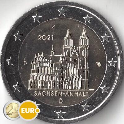 2 euros Allemagne 2021 - G Saxe-Anhalt UNC
