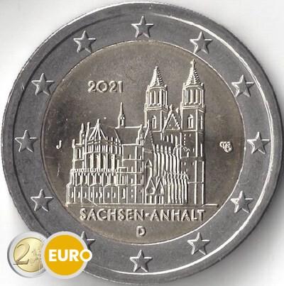 2 euros Allemagne 2021 - J Saxe-Anhalt UNC