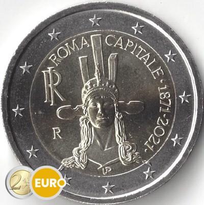2 euros Italie 2021 - 150 ans Rome Capitale UNC