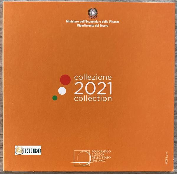 Série euro BU FDC Italie 2021