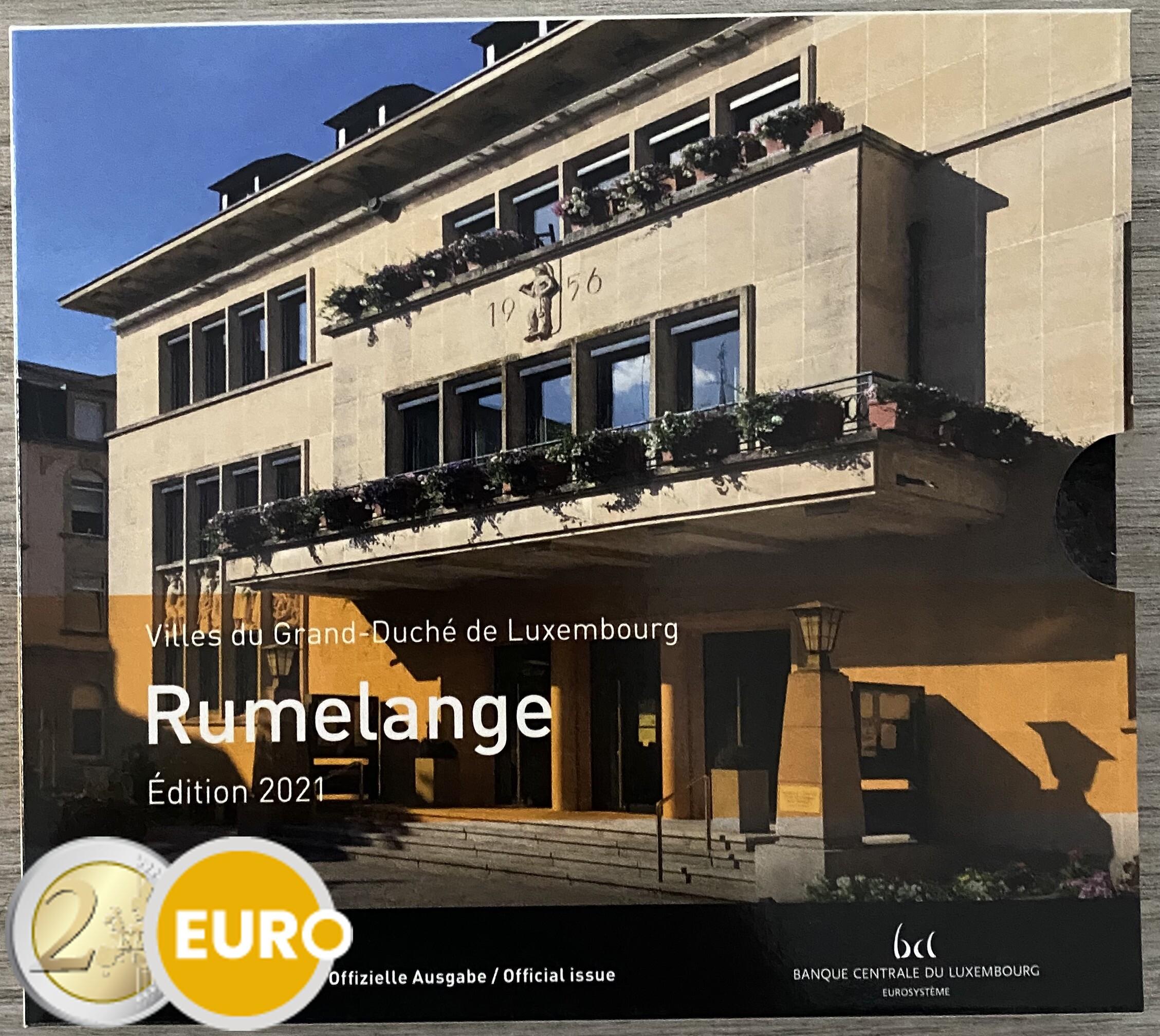 Série euro BU FDC Luxembourg 2021 Rumelange + 2 euros naissance Jean photo