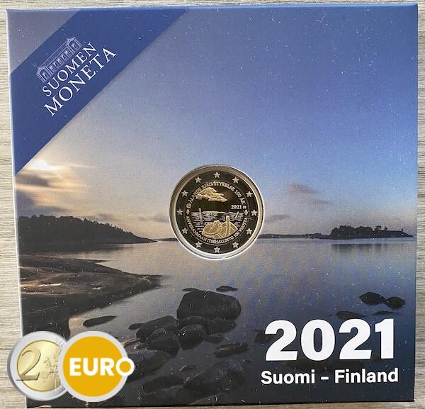 2 euros Finlande 2021 - Iles Aland BE Proof