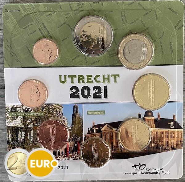 Série euro UNC Pays-Bas 2021 Utrecht